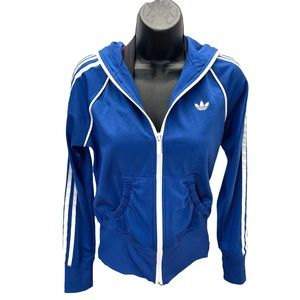 Adidas Original Zip Up Hoodie Woman's Size Small